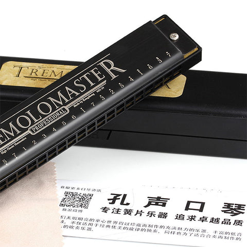 playlimba,New Tremolo 24 Hole Harmonica,PlayLimba™,Harmonica