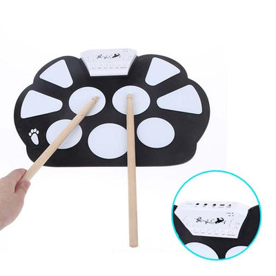 playlimba,Foldable Portable USB Electronic Drum,PlayLimba™,Electronic Drums