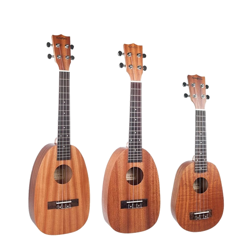 Pineapple Shaped Matte Ukulele