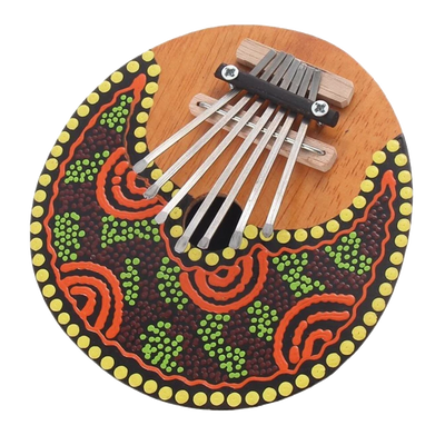 playlimba - PlayLimba™ 7 Keys Kalimba - Tunable Coconut Shell - PlayLimba™ - 100005497