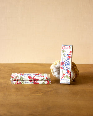 Woodblock Holiday Chocolate Bar