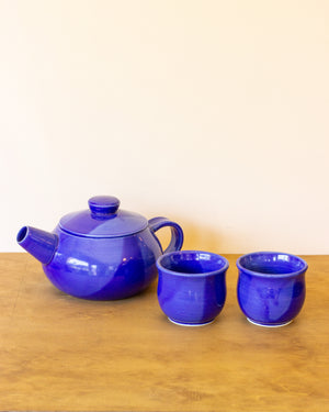 Sego Lilly Pottery Tea Set