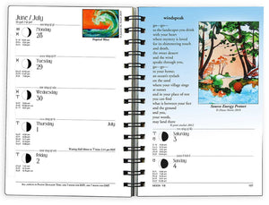 2021 We'Moon Datebook—astrological planner and moon phase calendar (Sturdy Paperback Binding)