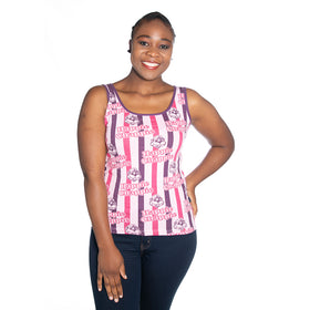 Ladies Happie Chappie Vest - Pink