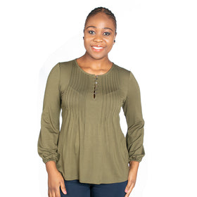 Celestial Top - Olive