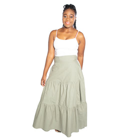Pretty Cool Skirt - Olive