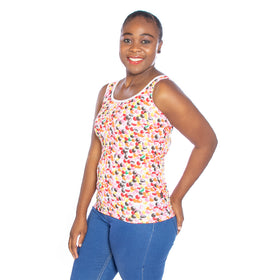 Ladies Smartie Vest - Multi