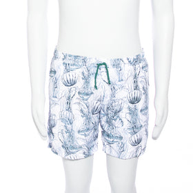 Jellyfish Shorts - White