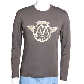 Long Sleeve All Africa T-Shirt - Chocolate