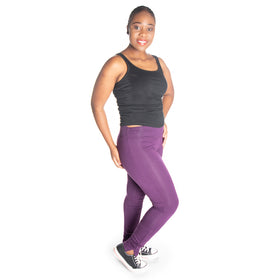 Winter Leggings - Purple