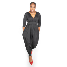 Winter Jumpsuit - Black