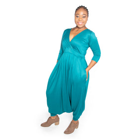 Winter Jumpsuit - Teal