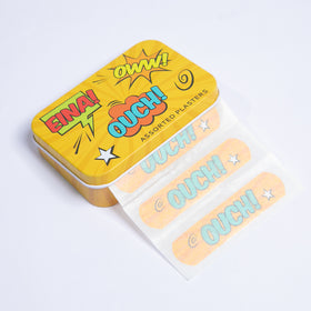 Plasters Tin - Ouch Popart