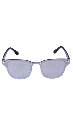 Lit Shades - Clubmaster - Silver