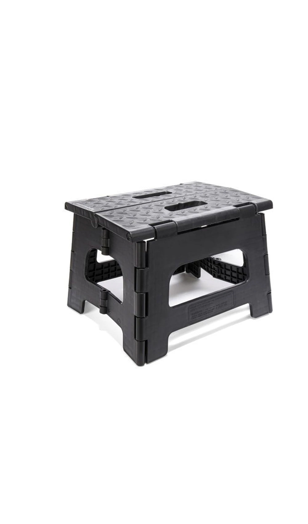 Easy Fold Step Stool - Black