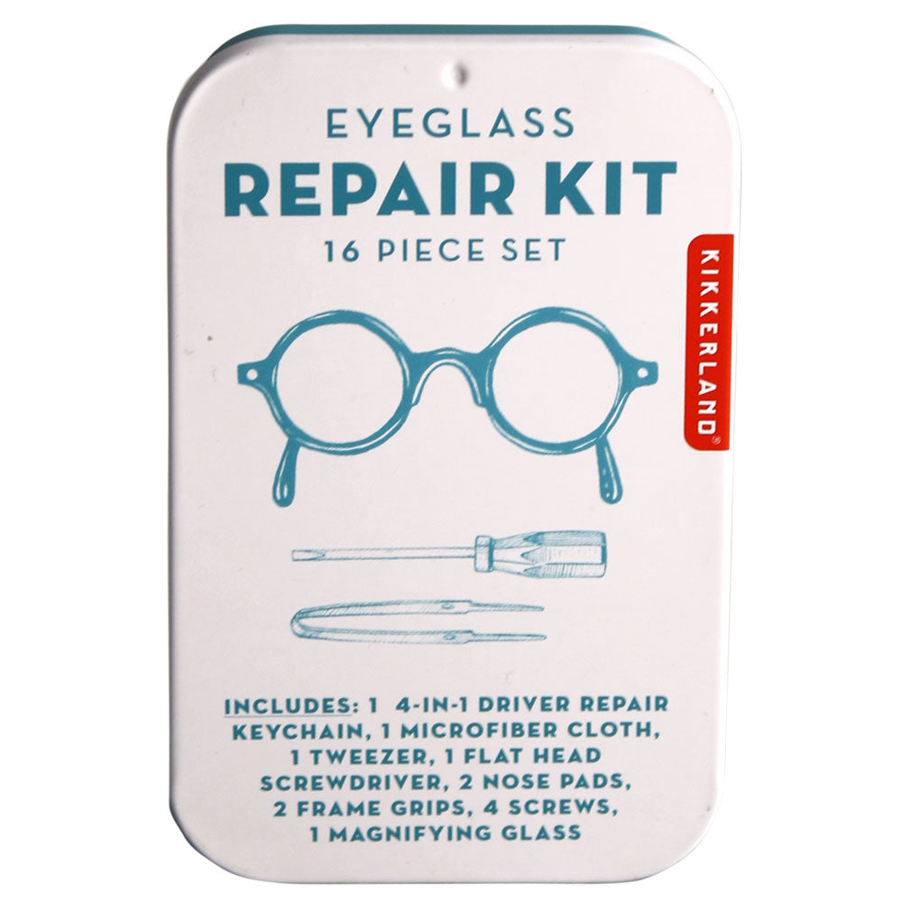 Eyeglass Repair Kit Tin