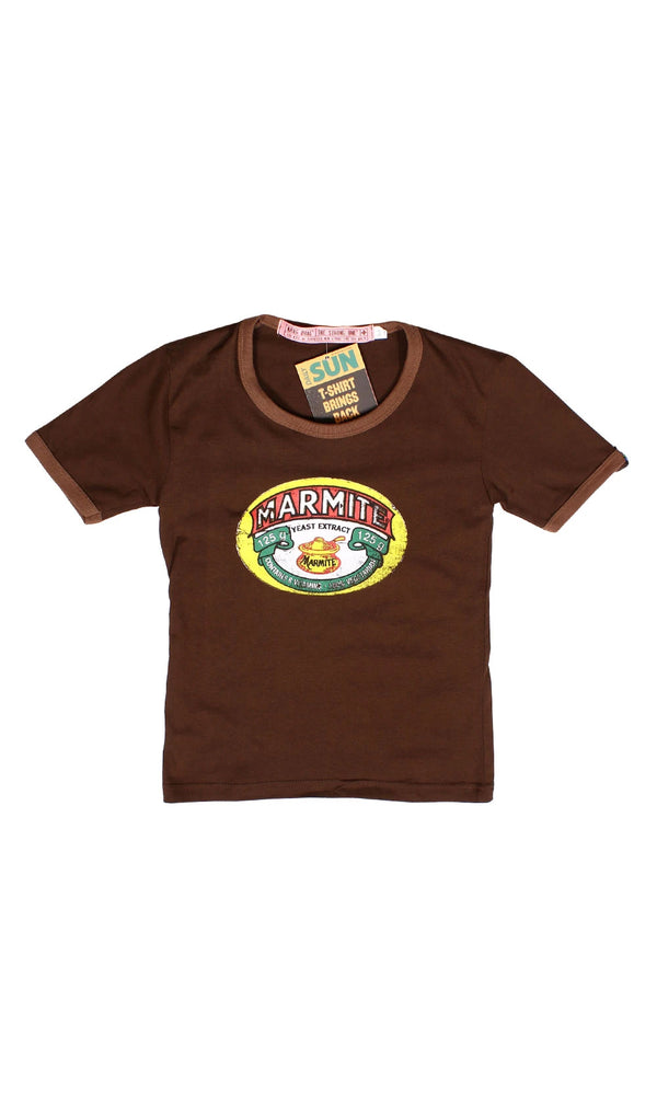 Junior Marmite T-Shirt - Chocolate