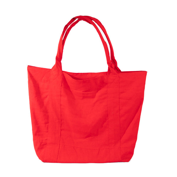 Big Linen Bag - Red