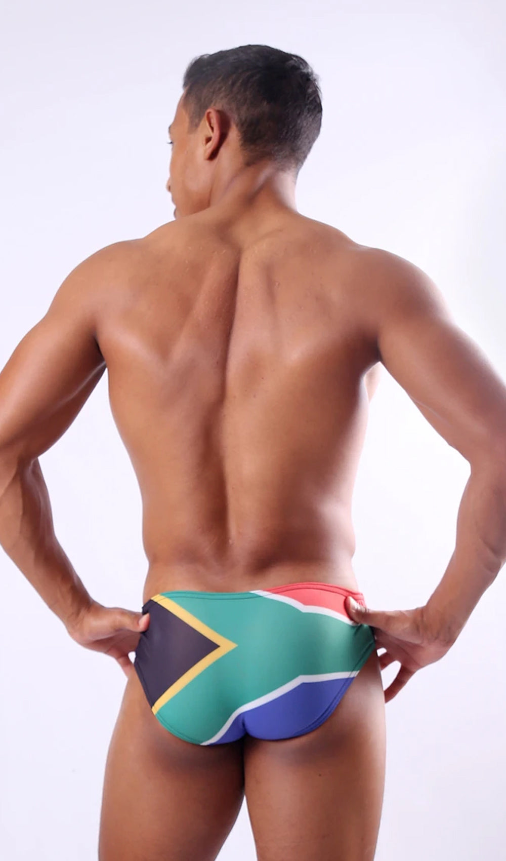 SA Flag Swim Briefs - Multi