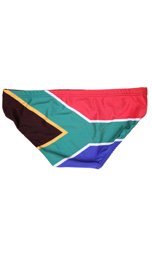 SA Flag Swim Briefs