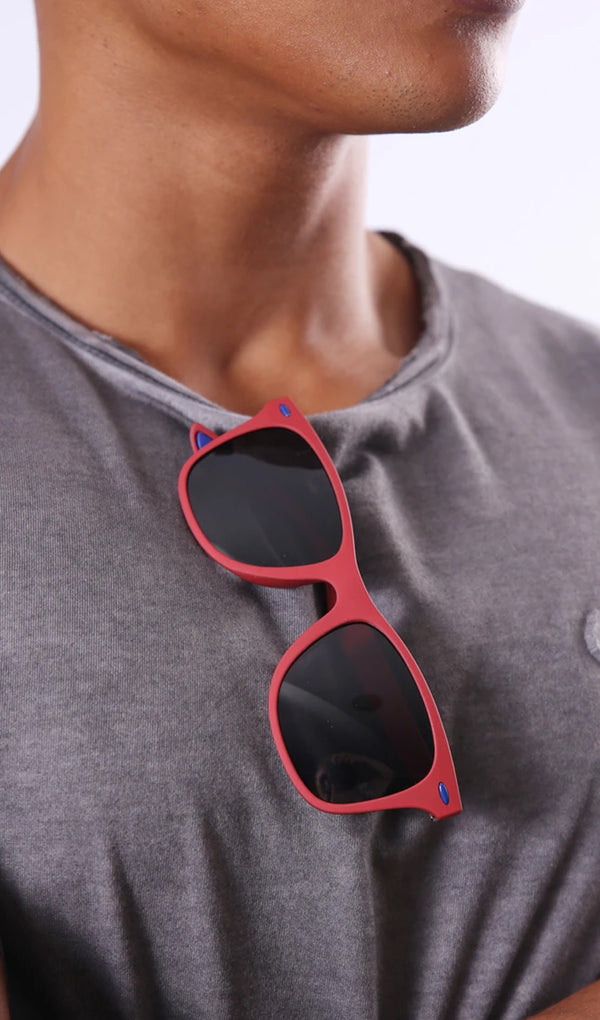 Lit Shades - Wayfarer - Red