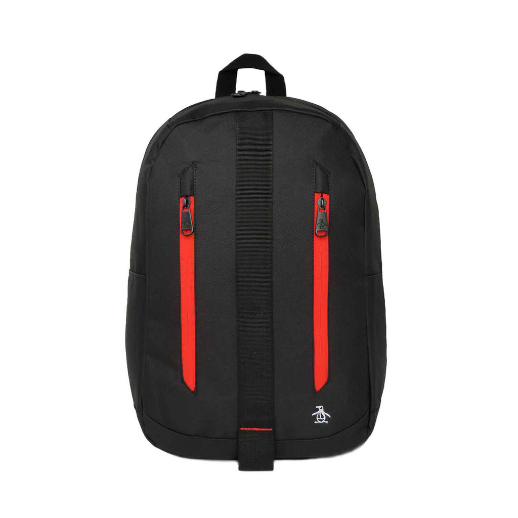 Original Penguin Burgess Black Red White Backpack - ANTHEM