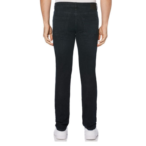 Perry Ellis Skinny Straight 5-Pocket Denim Pants - Dark Indigo