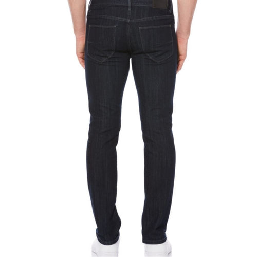 Perry Ellis Slim Straight Indigo Darted Denim Pants - Dark Indigo