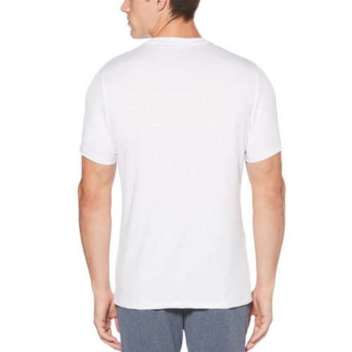 Perry Ellis Graphic Crewneck 360 Collection T-Shirt - Bright White - ANTHEM