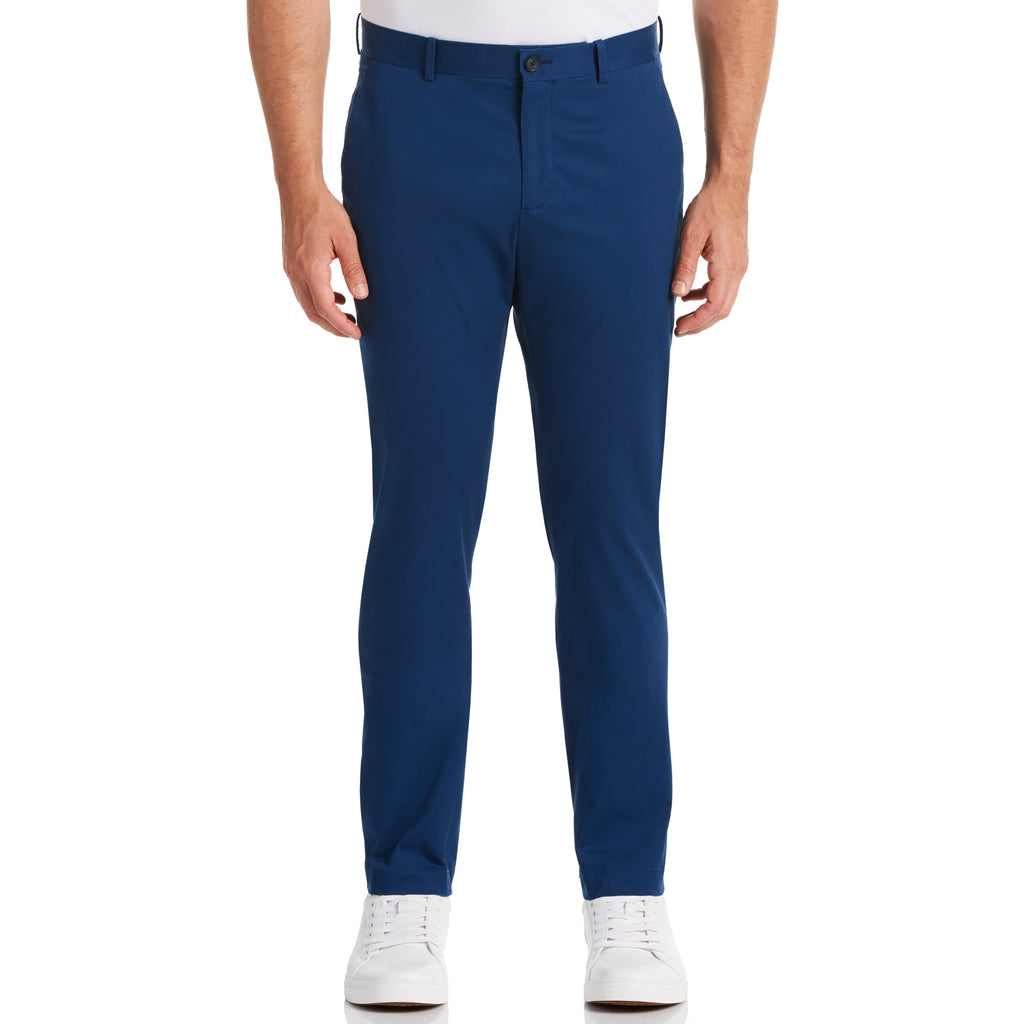 Perry Ellis Slim Stain Repel Chino Pants - ANTHEM