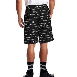 Champion USA Mens Powerblend Aop Short Black - ANTHEM