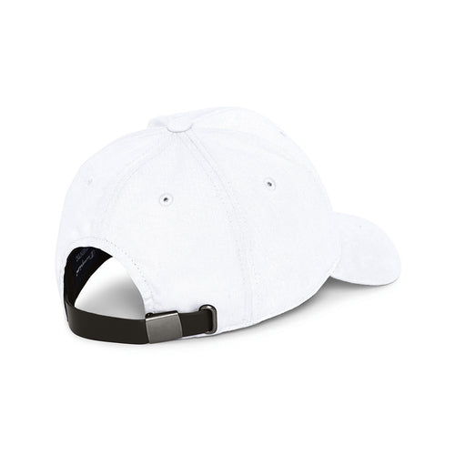 Champion USA Classic Twill Hat with 'C' Patch - White