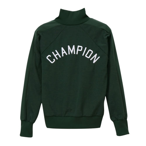 Champion Japan Full Zip Jacket - Dark Green