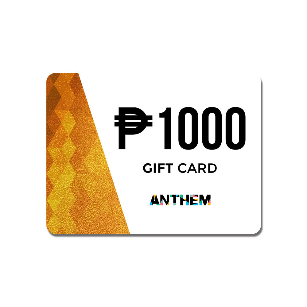 P1000 Anthem E-Gift Card (For Online Use only) - ANTHEM