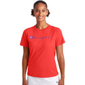 Champion Womens Classic T-Shirt - Red Flame