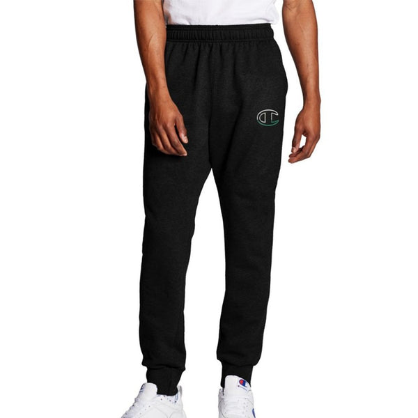 Champion USA Powerblend Graphic Jogger - Black