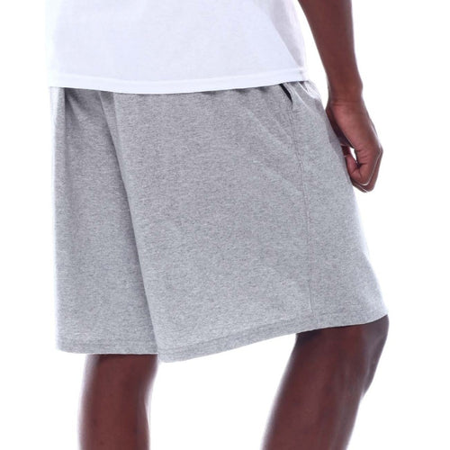 Champion Graphic Jersey Shorts - Oxford Gray