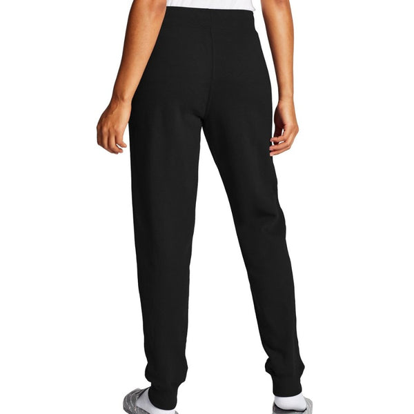 Champion USA Womens Powerblend Graphic Jogger - Black