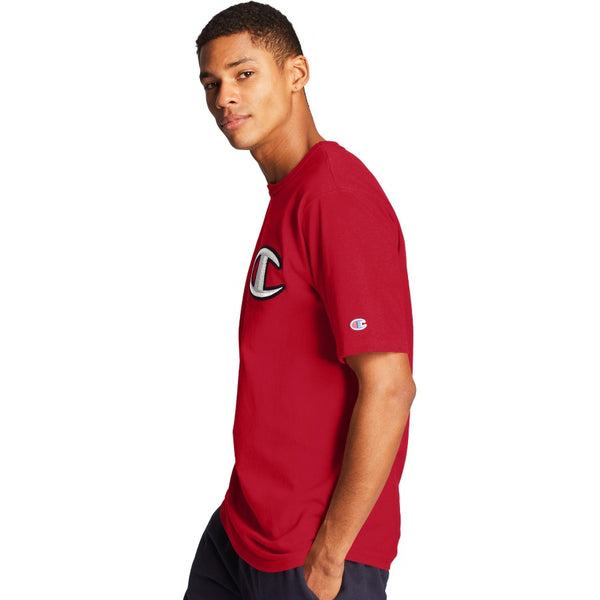 Champion USA Heritage T-Shirt - Team Red Scarlet