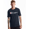 Champion USA Heritage T-Shirt (Screenprint Logo) - Navy