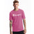 Champion USA Heritage T-Shirt (Screenprint Logo) - Peony Parade Pink