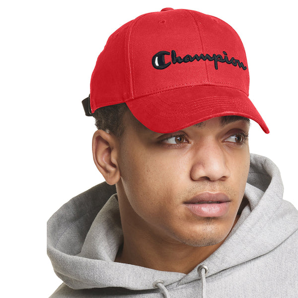 Champion Classic Twill Hat - Scarlet
