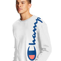 Champion USA Heritage Long Sleeve T-Shirt - White