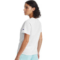 Champion USA Womens The Girlfriend T-Shirt - White