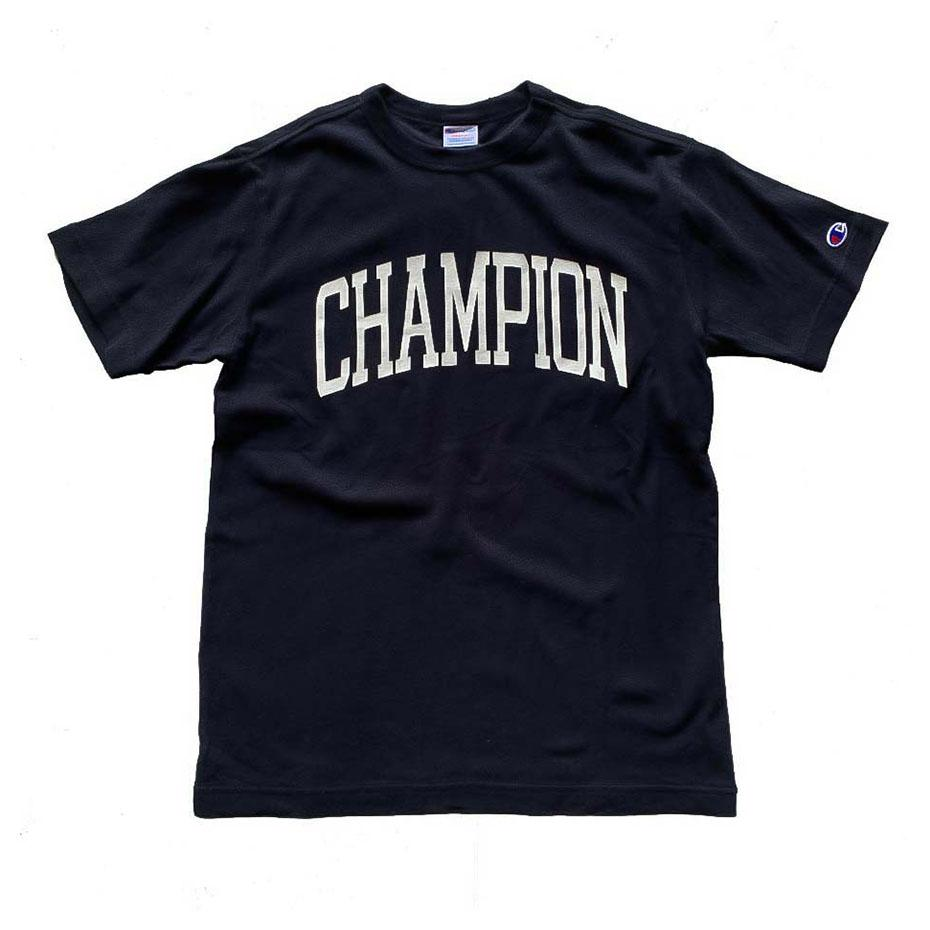 Champion Japan Mens College Campus T-Shirt Black - ANTHEM