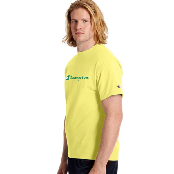 Champion USA Mens Classic Graphic Tee Journey Yellow - ANTHEM