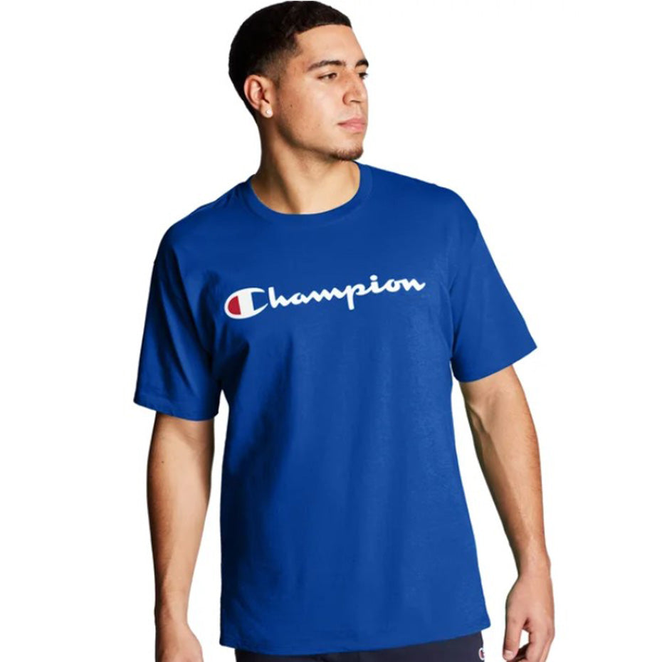 Champion USA Mens Classic Graphic Tee Surf The Web - ANTHEM