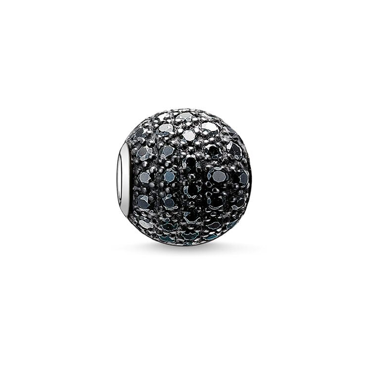 Thomas Sabo Karma Beads Black Pavé - ANTHEM