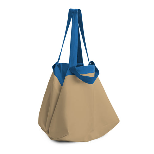 Beyond The Vines Life Reversible Relaxed Bag  - Blue Khaki