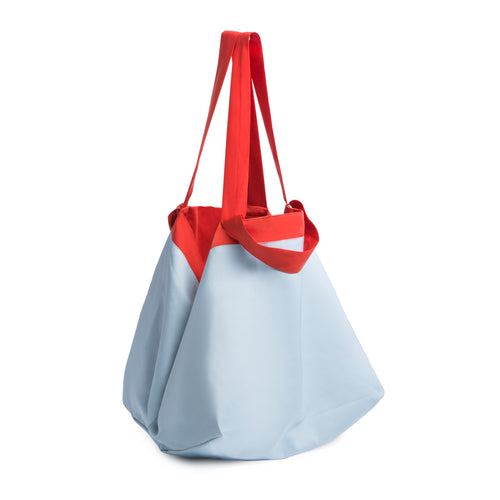 Beyond The Vines Life Reversible Relaxed Bag  - Red Blue